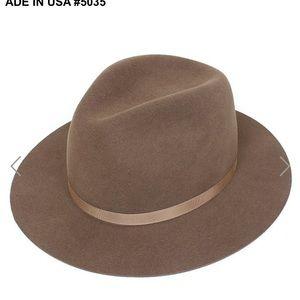 New York Hat Co. Wool Fedora NWT